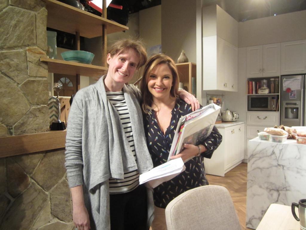 At the Willis house with Rebekah Elmaloglou